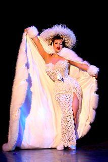 Immodesty Blaize British dancer