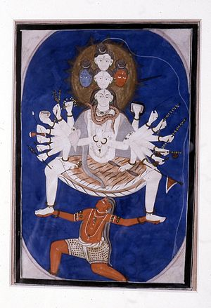 Mantra marga - Svacchanda Bhairava, the supreme being of Dakshina Shaivism
