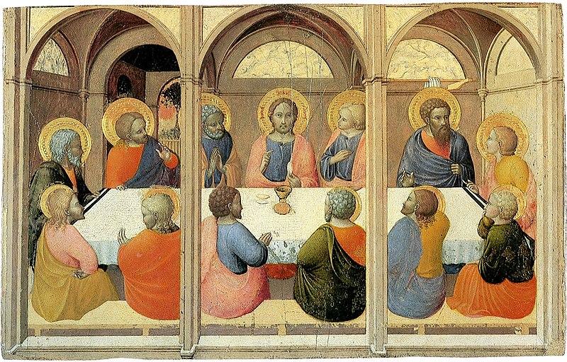 File:Institution-of-the-eucharist--Sassetta--Siena Pinacoteca.jpg