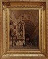 Intérieur de la mosquée de Cordoue (avec cadre), Adrien Dauzats, Musée Goya.jpg