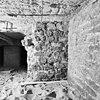 interieur westmuur romaanse kerk rechts zuidmuur van de toren no. 36. - alphen aan de maas - 20007575 - rce