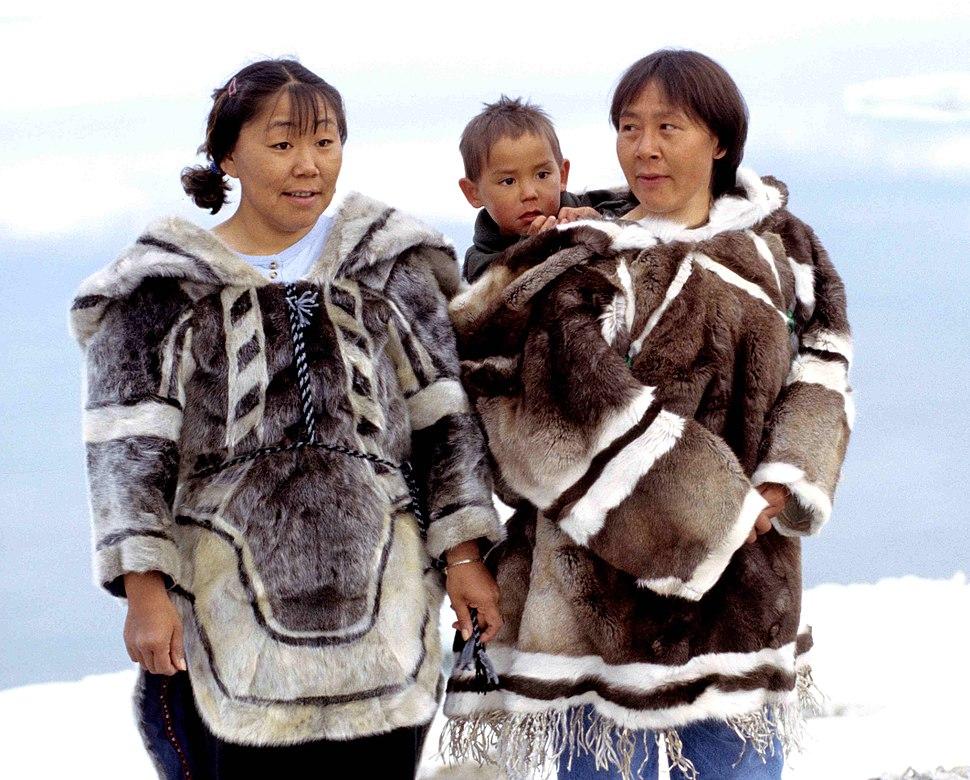Inuit-Kleidung 1