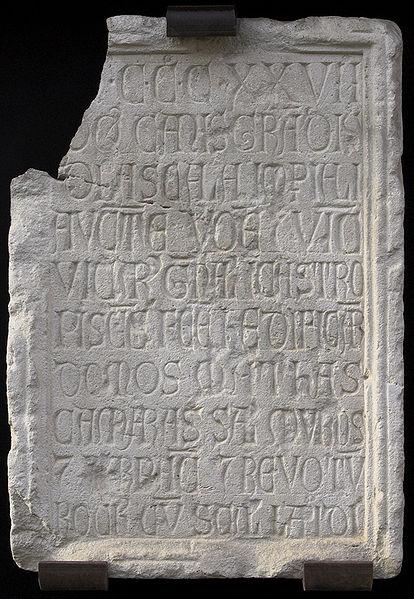 File:Iscrizione di Cangrande.jpg
