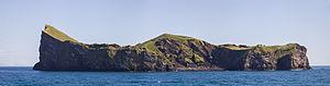 Vestmannaeyjar - Elliðaey island.