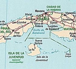 Cayos De Cuba Mapa.Cayo Largo Del Sur Wikipedia La Enciclopedia Libre