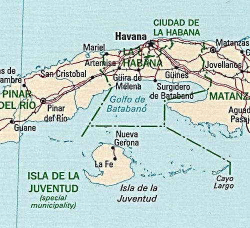 Cayo Largo Cuba Mapa.Cayo Largo Del Sur Wikiwand