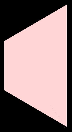 Isosceles trapezoid - Image: Isosceles trapezoid example