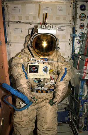 SuitSat - SuitSat-1 inside the ISS