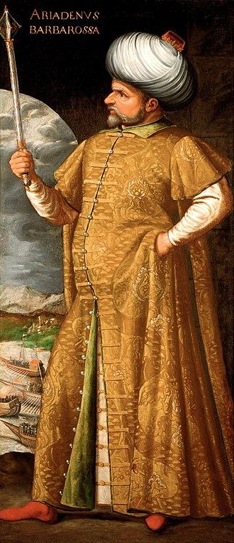 Hayreddin Barbarossa - Barbarossa circa 1580