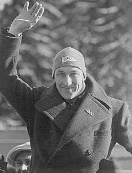 Ivar Ballangrud in 1936