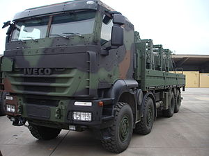 Danish Division - Image: Iveco Trakker GTF 8x 8