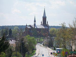 Iwaniska Village in Świętokrzyskie Voivodeship, Poland