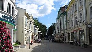 Jūrmala - Jomas street in Jurmala