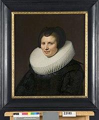Cornelia ten Haeff (overl.1661). Echtgenote van Abraham de Brauw
