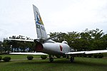 JASDF F-86F(52-7408) right rear view at Komatsu Air Base September 17, 2018 02.jpg