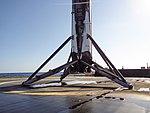 JCSAT-14 first stage on droneship (26820652856).jpg