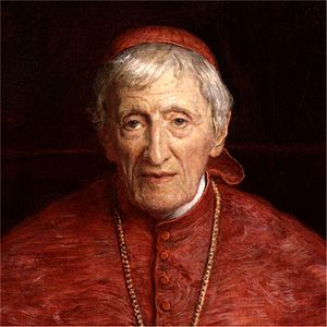 English: Portrait painting of John Henry Newman