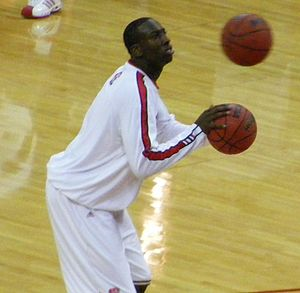 JJ Hickson (J.J. Hickson) of the NC State Wolfpack