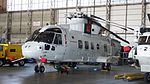 JMSDF MCH-101(8657) under maintenance at Iwakuni Air Base May 5, 2016 01.JPG