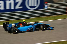Johnny Cecotto jr. op het Autodromo Nazionale Monza in 2011, uitkomend voor Ocean Racing Technology in de GP2 Series.