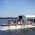 Jacqueline Kennedy takes a boat ride on Lake Pichola in Udaipur, India.jpg
