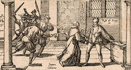 August 1: Henry III of France is stabbed by friar Jacques Clement Jacques Clement.jpg