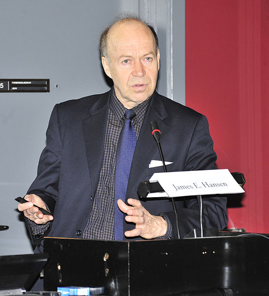 U.S. climate scientist James Hansen. Photo: Wikimedia