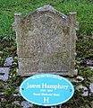 James Humphrey, Mauchline churchyard, East Ayrshire.jpg