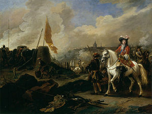 James Scott, 1st Duke of Monmouth - James Scott commanding the English against the Dutch in 1672, by Jan Wyck