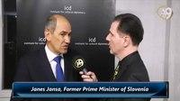 File:Janes Jansa, Former Prime Minister of Slovenia.webm