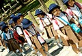 Japanese elementary school girls of Nara, Japan; May 2008.jpg