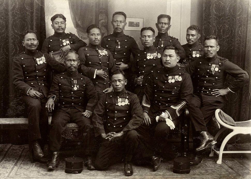 Javaanse KNIL-militairen