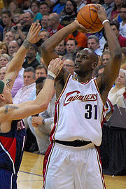 Jawad Williams shooting over Mike Bibby cropped.jpg