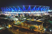 Jawaharlal Nehru Stadium CWG opening ceremony.jpg