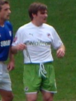 Jay Tabb - Tabb playing for Reading in 2010.