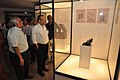 Jayanta Sengupta Visits With Shrikant Pathak And Nataraj Dasgupta - Objects In CRTL Archive Exhibition - NCSM - Kolkata 2018-05-18 0613.JPG