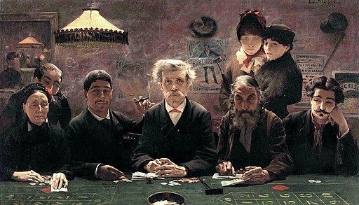 Jean-Eugène Buland - Le Tripot (1883)