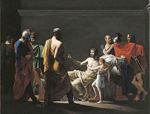 Jean-Pierre Granger - Antiochus Sending His Son to Scipio (1800)