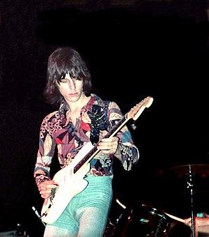 Beck, Bogert & Appice - Image: Jeff Beck 1972