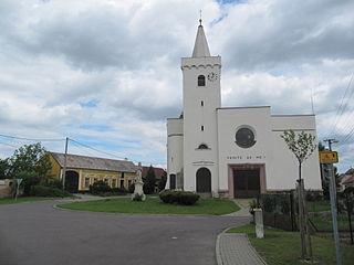 Jevišovka Municipality in South Moravian, Czech Republic