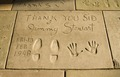 Jimmy Stewart's hand and footprints, Grauman's Chinese Theatre, Los Angeles, California LCCN2010630039.tif