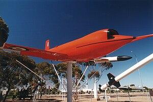 GAF Jindivik - Image: Jindivik at Woomera