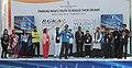 Jitendra Singh addressing at the launch of the National Youth Policy, 2014 (NYP) and Rajiv Gandhi Khel Abhiyan (RGKA), a Centrally Sponsored Plan Scheme, at the Jawaharlal Nehru Stadium, in New Delhi. Shri Rahul Gandhi, MP.jpg