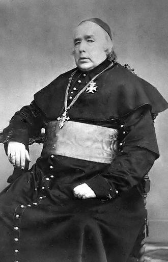 Reestablishment of the episcopal hierarchy in the Netherlands - Joannes Zwijsen, first Archbishop of Utrecht, after the re-establishment of the hierarchy