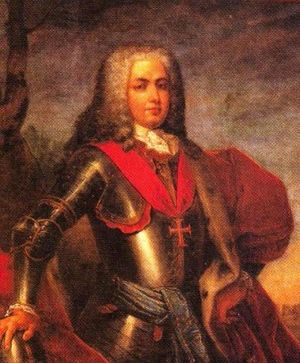 John V of Portugal - John, Duke of Braganza; c. 1706. John aged around 17 years.