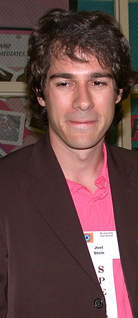"Stein at Beverly Hills High School for ""Career Day"", May 16, 2006"