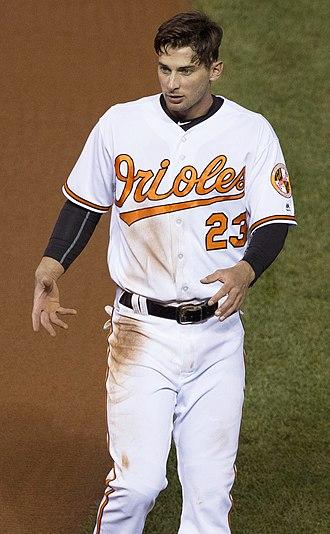 Joey Rickard - Rickard with the Baltimore Orioles