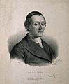 Johann Caspar Lavater. Lithograph by Z. Belliard. Wellcome V0003411.jpg