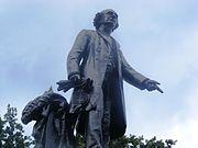 John A MacDonald statue