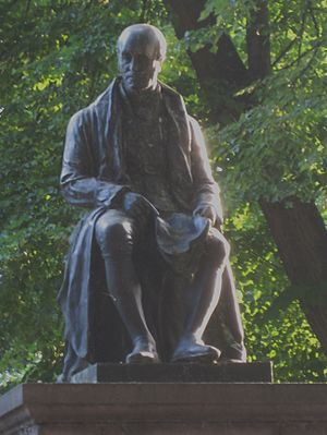 John Cartwright (political reformer) - Statue of John Cartwright from Cartwright Gardens